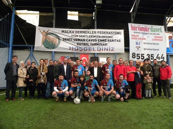 Maçka Dernekler Federasyonu-futbol turnuvası