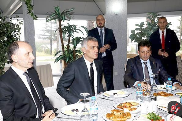Trabzonspor'da Adaylar Kahvaltıda Buluştu