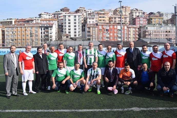 Giresun Federasyonu futbol turnuvası
