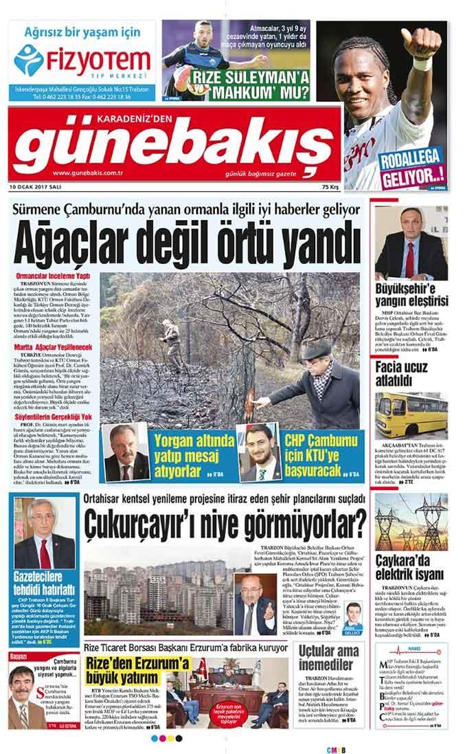Yerel Basın - 10 Ocak 2017