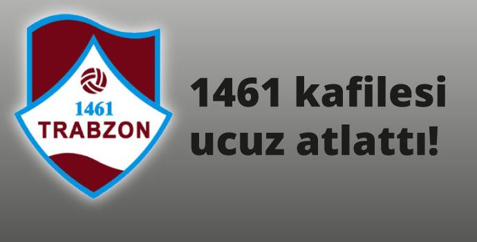 1461 Trabzon kafilesi kaza geçirdi!