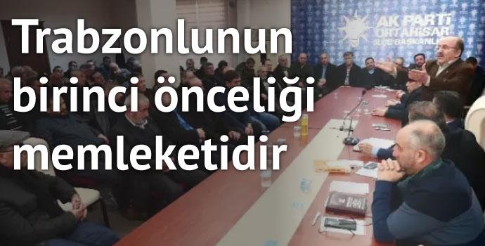AK Parti Ortahisar İlçe Danışma Meclisi Toplantısı yapıldı