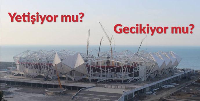 Akyazı Stadı inşaatı gündemden düşmüyor