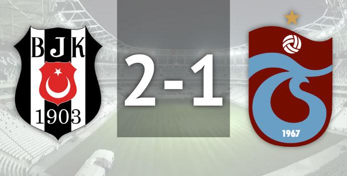 Beşiktaş 2-1 Trabzonspor