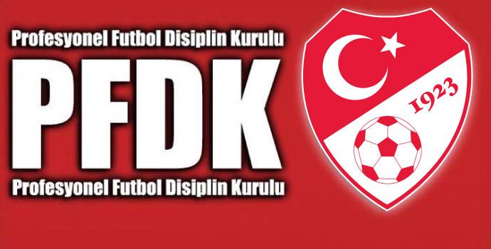 Bu haftanın PFDK haberi