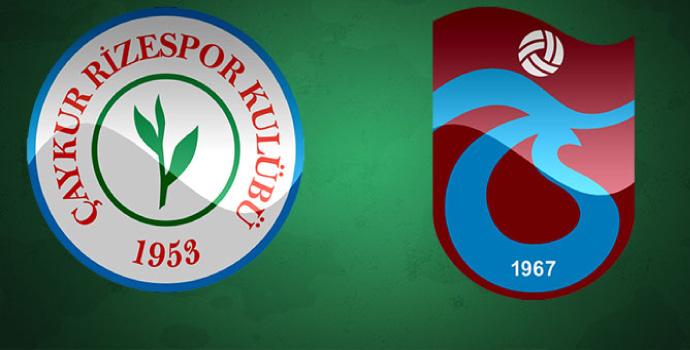 Çaykur Rizespor-Trabzonspor