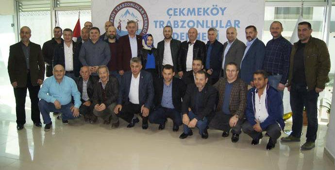 Çekmeköy Trabzonlular Derneği basınla buluştu