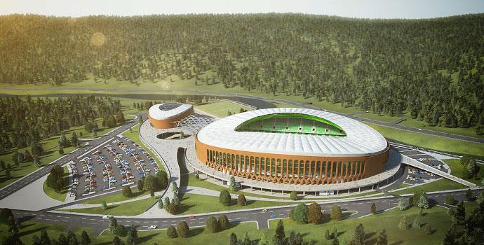 Çotanak Arena çok güzel olacak