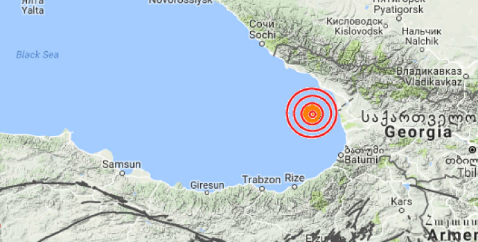 Doğu Karadeniz'de deprem!