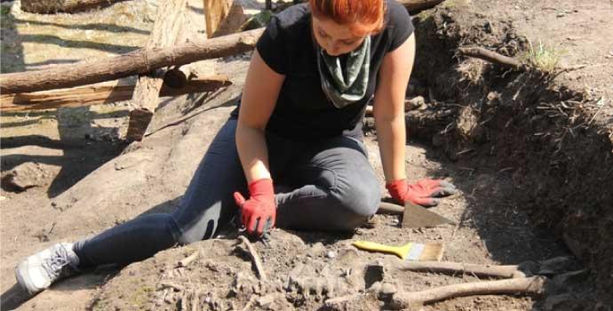 Giresun Adası'nda kazı yapılıyor