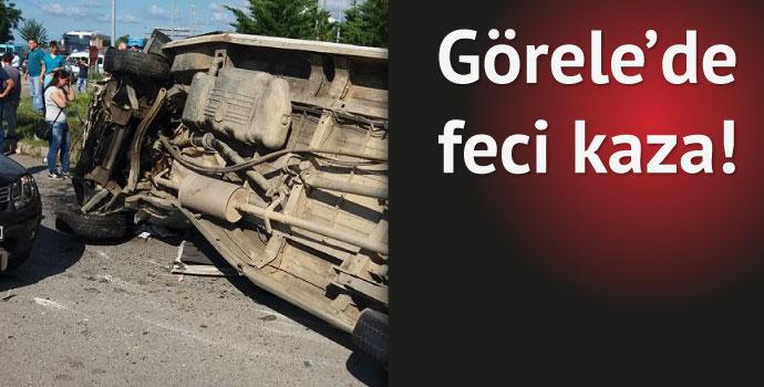 Görele'de trafik kazası...Çok sayıda yaralı var