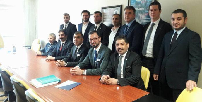 İş adamları Trabzon'a çıkarma yaptı
