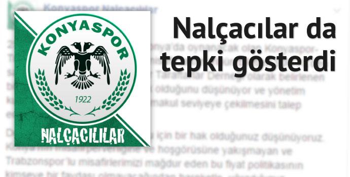 Konyaspor taraftar grubundan fiyata tepki