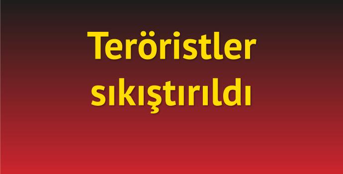 Maçka'daki teröristler sıkıştırıldı