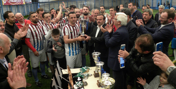 Maçka'nın şampiyonu Sevinç Köyü Derneği