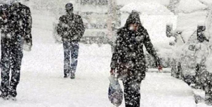 Meteoroloji'den uyarı! Yoğun kar geliyor