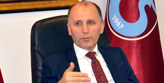 Muharrem Usta: Trabzonlu rahat olsun