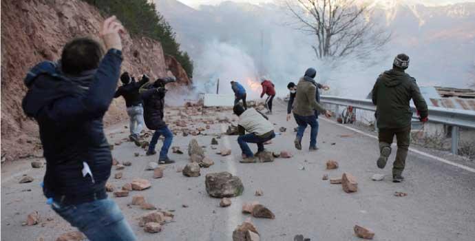 PKK'ya karşı Cerattepe'ye silahlı güvenlik