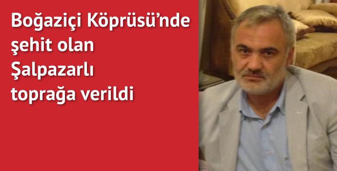 Şalpazarlı şehit İstanbul'da ebediyete uğurlandı