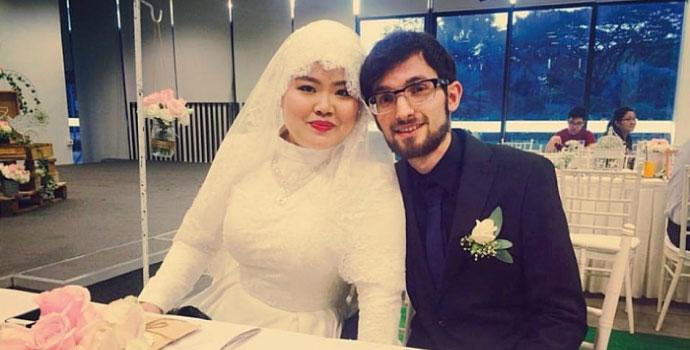 Singapurlu Elif Trabzon'a gelin geldi