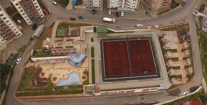 Trabzon Büyükşehir Belediyesi'nden spor temalı park