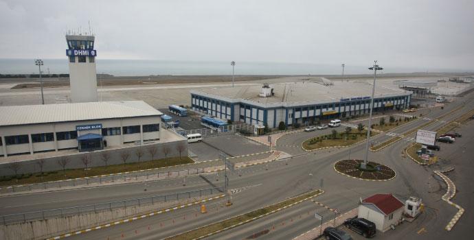 Trabzon havalimanında uçuş trafiği artıyor