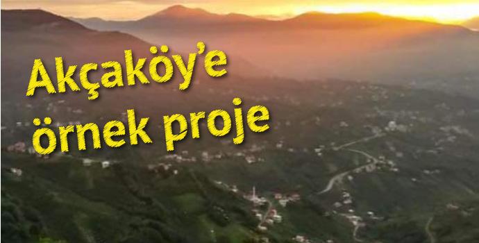 Trabzon'da alternatif turizm projesi