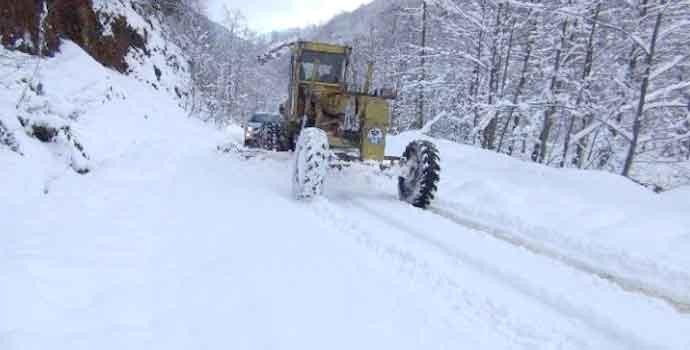 Trabzon'da bu yollar kapalı