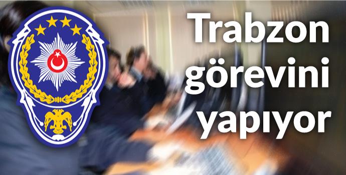 Trabzon'da ihbarlar zirve yaptı