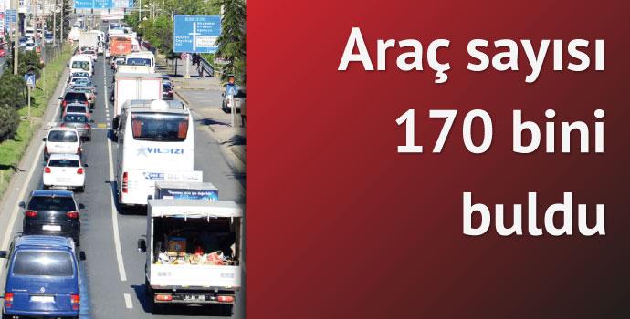 Trabzon'da trafik çıkmaza gidiyor