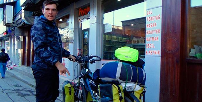 Trabzon'lu Bisiklet Tutkununu PKK'lılar Linç Etmeye Kalkıştı!