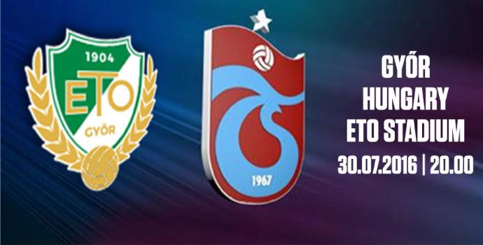 Trabzonspor 2. hazırlık maçına çıkıyor