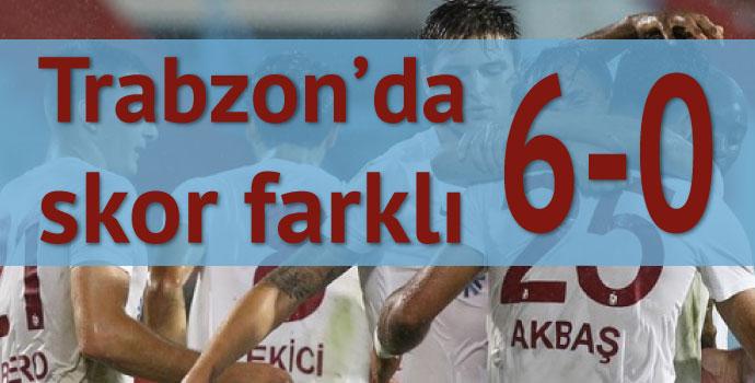 Trabzonspor 6 - 0 Serhat Ardahanspor