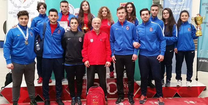 Trabzonspor Atıcılık Takımı'ndan başarılı sonuçlar