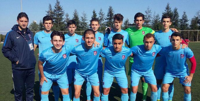 Trabzonspor bu hafta altyapıda da tekledi