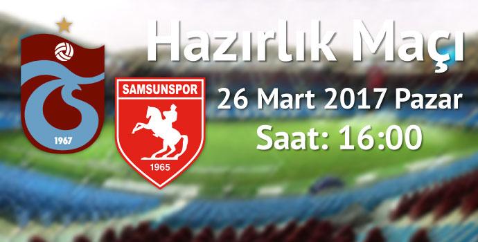 Trabzonspor hazırlık maçı yapacak / Taraftara bir de müjde var!