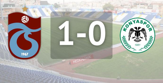 Trabzonspor - Konyaspor / Maç bitti