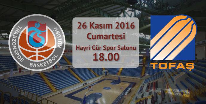 Trabzonspor Medicalpark 86-80 Tofaş