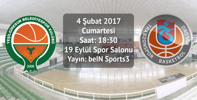 Yeşilgiresun Belediye 81 - 80 Trabzonspor Medicalpark