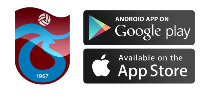 Trabzonspor mobil uygulaması yayınlandı