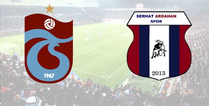 Trabzonspor - Serhat Ardahanspor maçı saat kaçta, hangi kanalda?