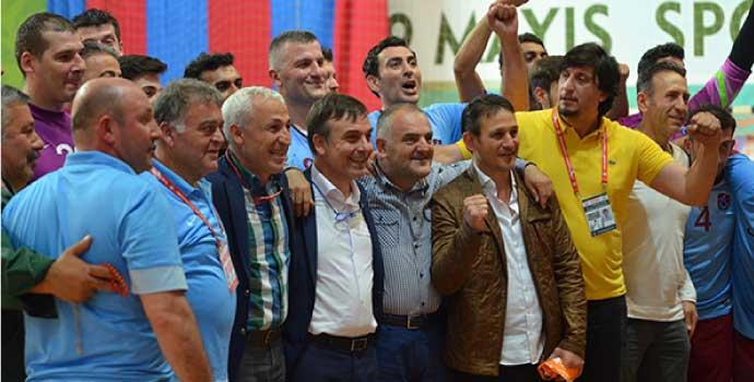 Trabzonspor seride durumu 2-2 yaptı