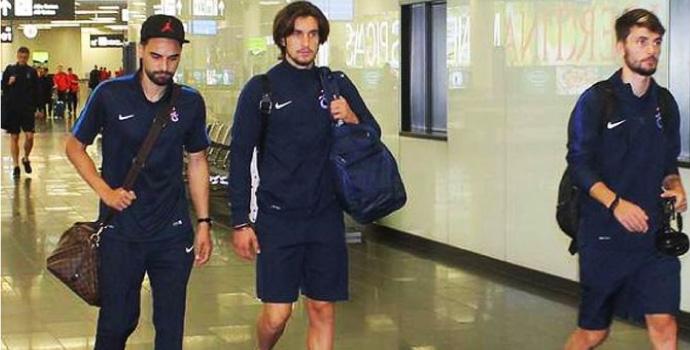Trabzonspor Slovakya kampına başladı