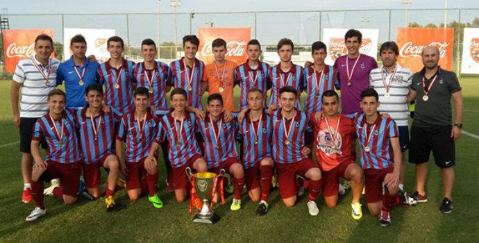 Trabzonspor U16 Şampiyon