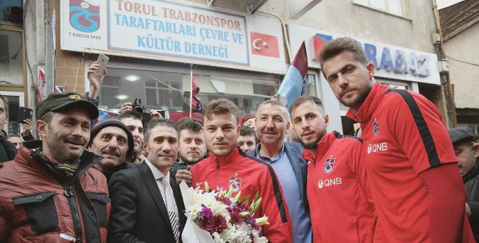 Trabzonspor'a sıcak karşılama