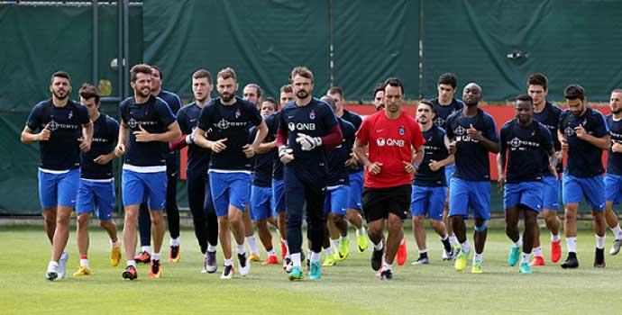 Trabzonspor'da Bursaspor maçı hazırlıkları tamam