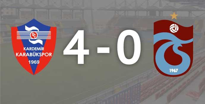 Trabzonspor'da facianın boyutları büyüyor: 4-0