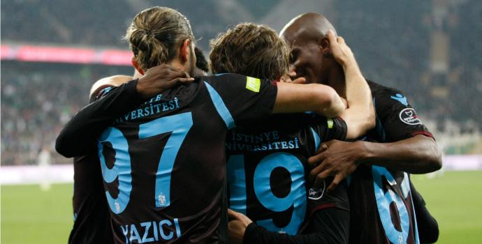 Trabzonspor'dan son 8 sezonun en iyi performansı