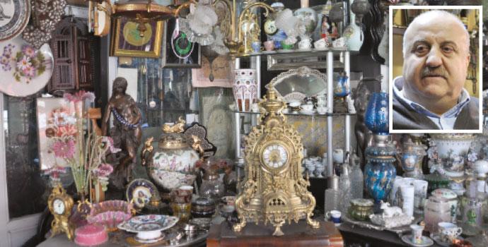 Trabzon'un 60 yıllık antikacısı