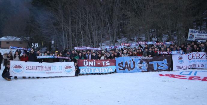 UniTS'lerin Abant'ta büyük buluşması
